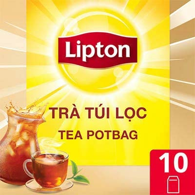 Lipton Tea Potbag 10x12g - Help Restaurant, Hotel, Café enhance service quality