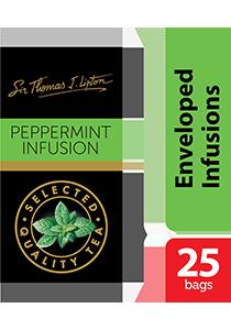 Sir Thomas Lipton Bạc Hà Cay 25x1.5g - Nơi hương vị hảo hạng của từng lá trà được tái hiện nguyên bản