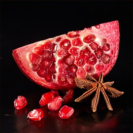2. Pomegranate and star anise